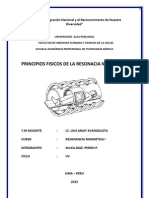 Principios Fisicos de La Resonancia Magnetica (Original)