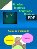 Habilidades motoras acuaticas