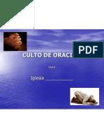 DEVOCIONAL-CULTO DE ORACIÓN