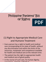 Philippine Patients' Bill of Rights