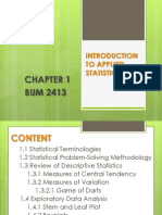 Chapter 1 Introduction to Applied Statistics2-Farah