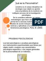 Historia de Las Pruebas Psicologicas