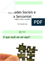 As Redes Sociais e Sercomtel