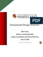 Instructional Design Overview Final