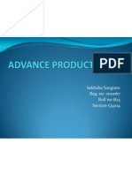 Advance Product of Sbi