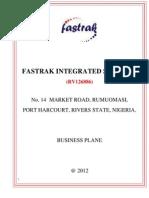 Fastrak Integrated Services Vtn Marketing Plan