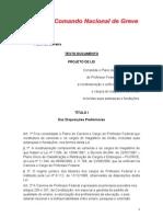 PROPOSTA DE REESTRUTURAÇÃO DOCENTE - ANDES