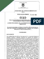 Resolución_0689_Del.23.08.12. Negativa y Expulsión Multinacional Canadiense de Bahía Solano