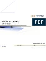 Tutorial Guide VPro Writing Test