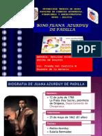 Bono Juana Azurduy