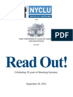 Read Out Program 2012