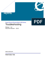 Troubleshooting - Nortel