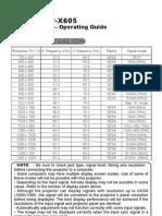 CP-X505 Technical Manual[1]