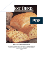 West Bend Breadmaker 41080 Recipes