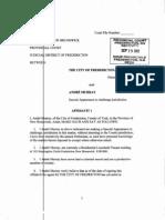 Sept 25, 2012 Affidavit in Support of Application Challenging Jurisdiction