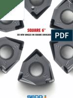 Seco - Square 6 Insertos