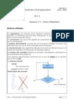 TD1 - Introduction à la programmation