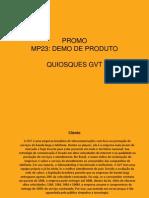 MP23 QUIOSQUE GVT
