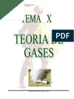 Teoria de Los Gases Tema x