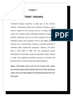 Project Study on Hotel Industry at Jodhpur