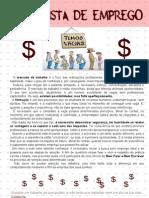 Apostila Português - currículo e entrevista