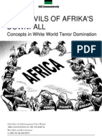 102590047 ROOT EVILS of AFRIKA s DOWNFALL Concepts in White World Terror Domination