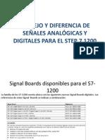 MANEJO Y DIFERENCIA DE SE+æALES ANAL+ôGICAS Y DIGITALES