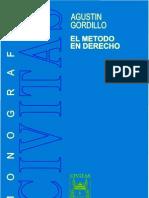 El Metodo en Derecho - Agustin Gordillo