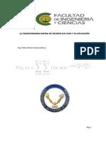 La Transformada de Fourier Informe