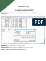 Funciones de Bases de Datos
