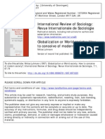 Globalization or World Society-Luhmann
