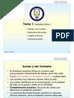 CURSO DE ACÚSTICA TÉCNICA