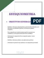 Estequiometria Trabajo Final
