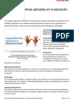 Terapias Alternativas Aplicadas Educacion Inicial[1]