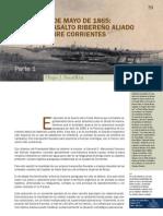 25 DE MAYO DE 1865 - EL ASALTO RIBEREÑO ALIADO SOBRE CORRIENTES