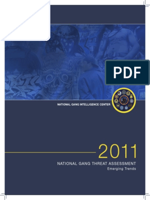 National Gang Threat Assessment | Gang | Illegal Drug Trade