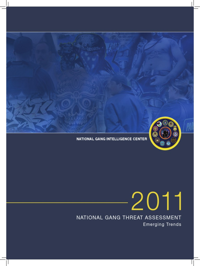 National Gang Threat Assessment | Gang | Illegal Drug Trade