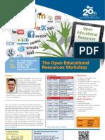 OER Workshop at IMU (22-23 Nov)