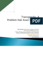 Transgender Dan Problem HAM