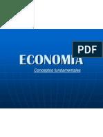 Conceptos Fundamentales En Economía