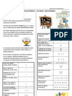 Apunte - Lenguaje Algebraico(n2)(Nb6mat)