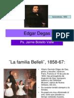 Edgar Degas. Jaime Botello Valle