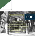 Objeción conciencia_Dr.Monés