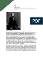 Jefferson Davis Inaugural Speech