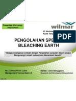 Pengolahan Spenth Bleaching Earth