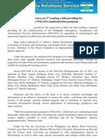 sept27_House approves on 3rd reading a bill providing for a 3-year PAGASA modernization program