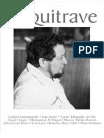 La revista de poesía Arquitrave dedicada a Carlos Contramaestre