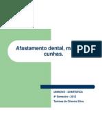 Afastamento Dental