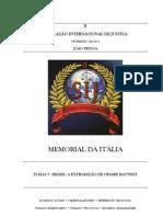 MEMORIAL DA REPÚBLICA ITALIANA - II SIJ