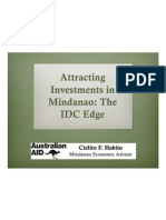Attracting Investments in Mindanao